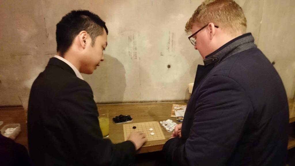 英語が話せない井桁代表でも、囲碁で交流ができました!